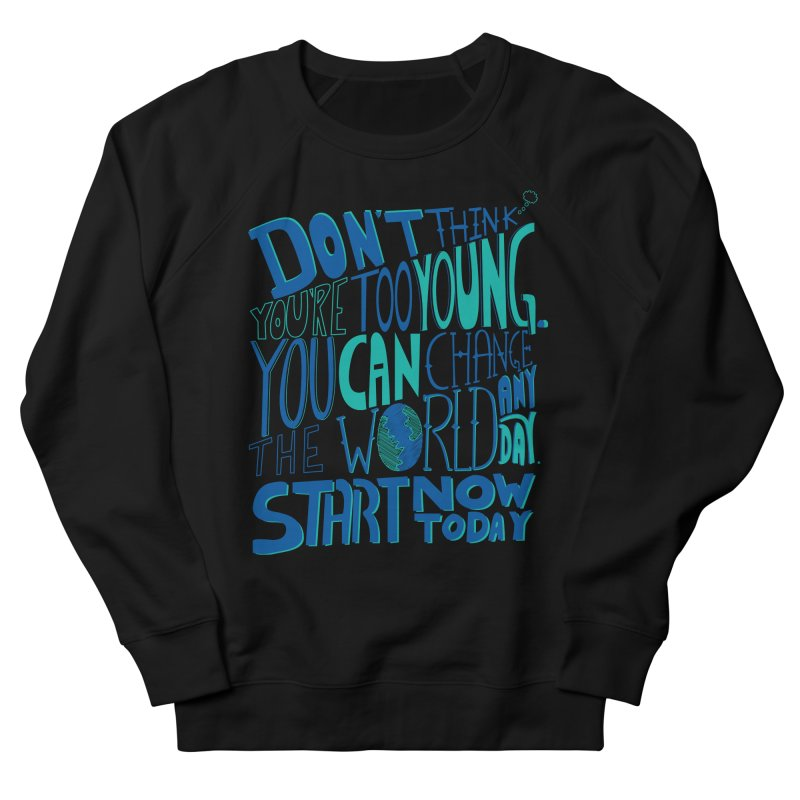 be the change Men's Sweatshirt by Ink and Graphite's Artist Shop