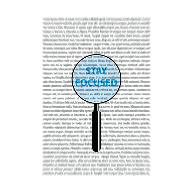 Stay Focused by Ink and Graphite's Artist Shop