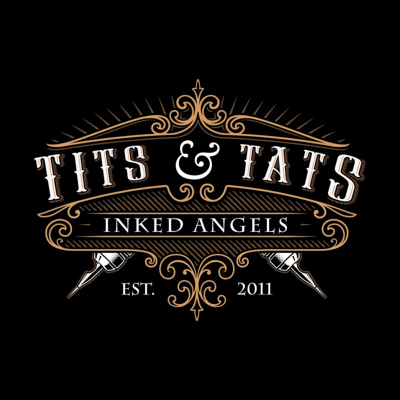 Tits & Tats Since 2011 Men's T-Shirt by Inked Angels' Store
