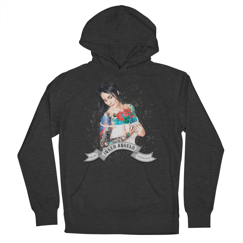 """Inked Angels Signature Series """"Catherine Tayler"""" Women's French Terry Pullover Hoody by Inked Angels' Store"""