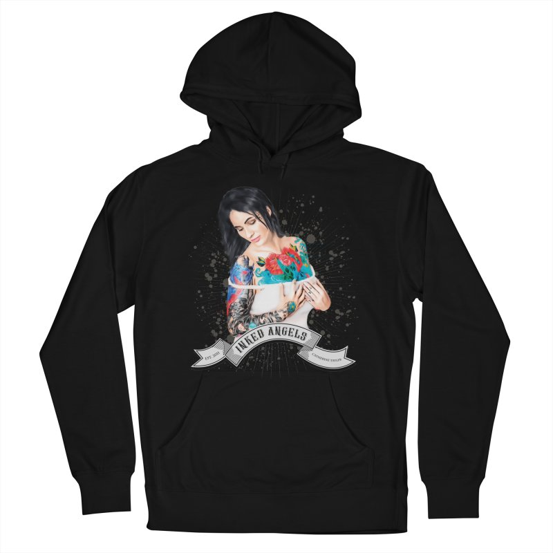 "Inked Angels Signature Series ""Catherine Tayler"" Men's French Terry Pullover Hoody by Inked Angels' Store"