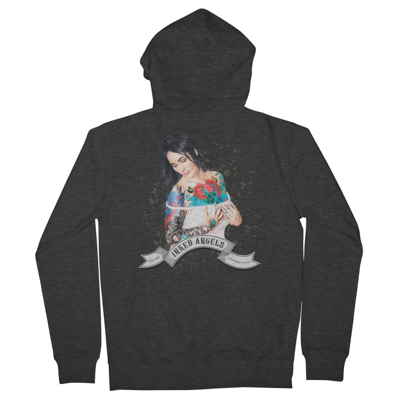 "Inked Angels Signature Series ""Catherine Tayler"" Women's French Terry Zip-Up Hoody by Inked Angels' Store"