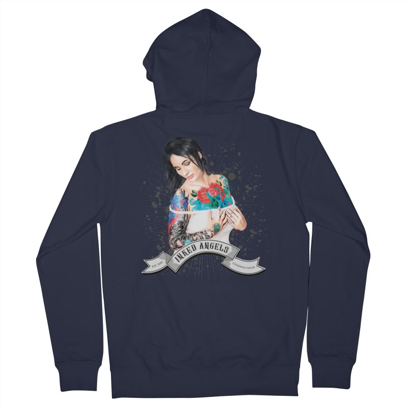 "Inked Angels Signature Series ""Catherine Tayler"" Women's Zip-Up Hoody by Inked Angels' Store"