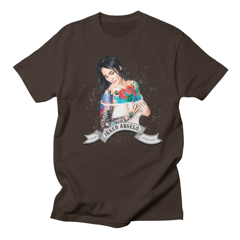 """Inked Angels Signature Series """"Catherine Tayler"""" Men's T-Shirt by Inked Angels' Store"""