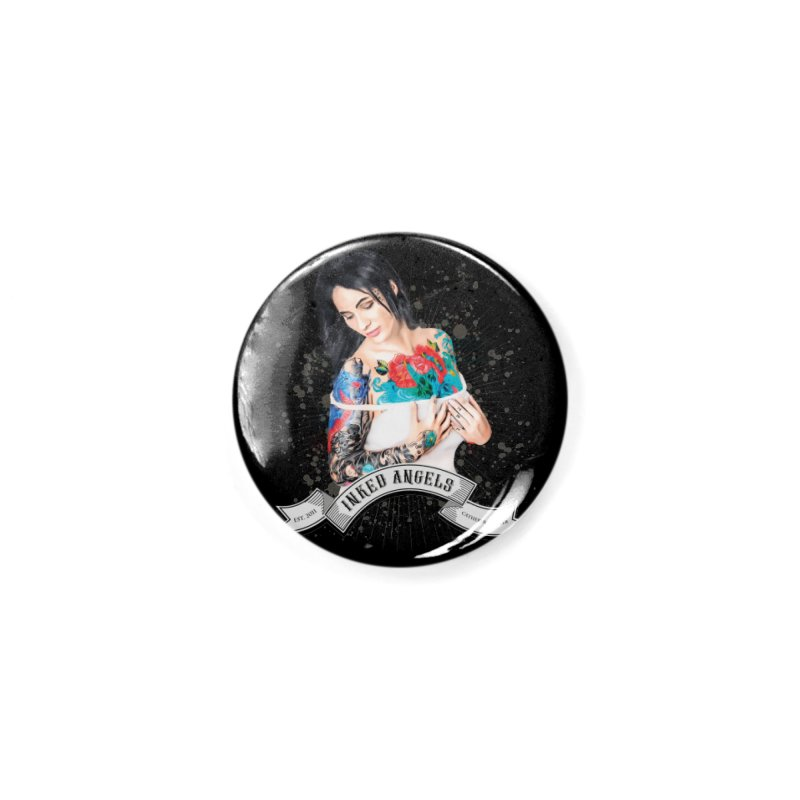"Inked Angels Signature Series ""Catherine Tayler"" Accessories Button by Inked Angels' Store"