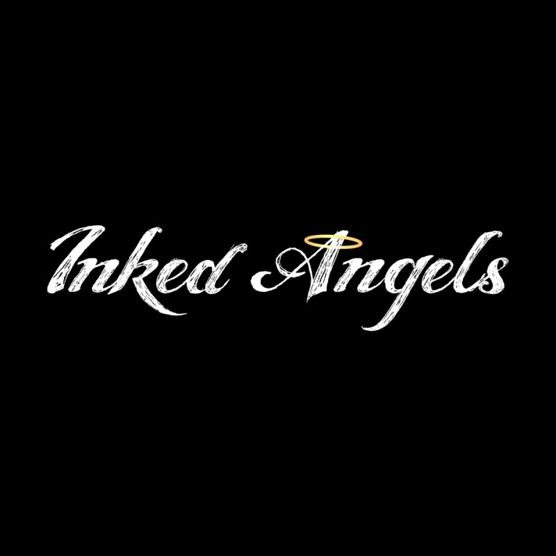 Inked Angels Logo Men's Pullover Hoody by Inked Angels' Store