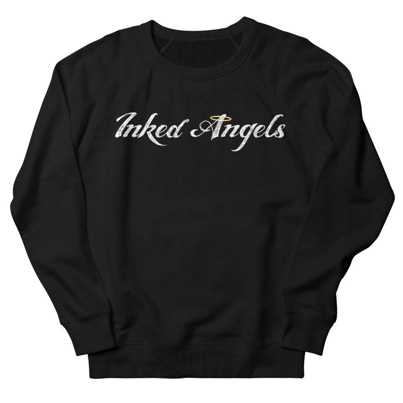 Inked Angels Logo Men's French Terry Sweatshirt by Inked Angels' Store