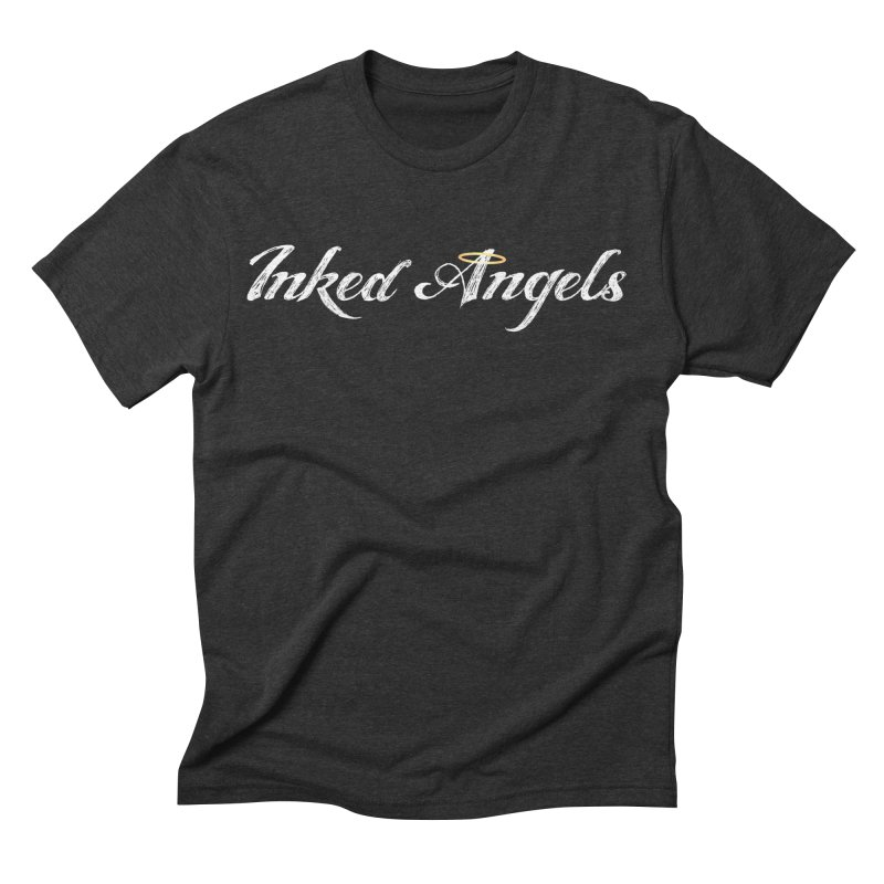 Inked Angels Logo Men's Triblend T-Shirt by Inked Angels' Store