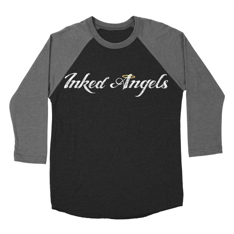 Inked Angels Logo Men's Baseball Triblend T-Shirt by Inked Angels' Artist Shop