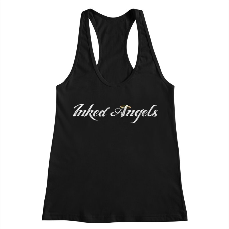 Inked Angels Logo Women's Racerback Tank by Inked Angels' Store