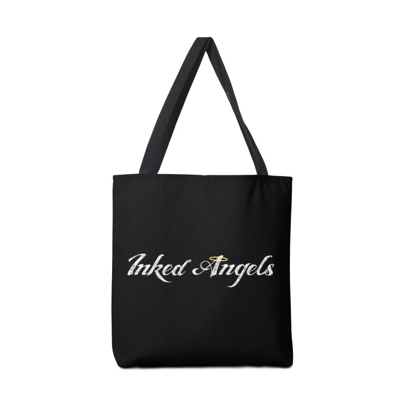 Inked Angels Logo Accessories Bag by Inked Angels' Artist Shop