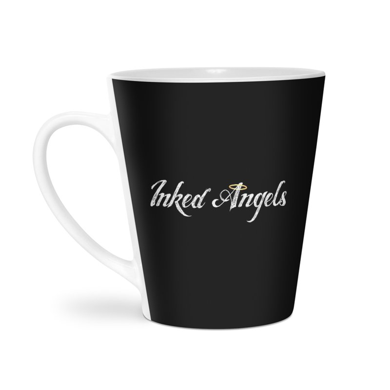 Inked Angels Logo Accessories Latte Mug by Inked Angels' Store