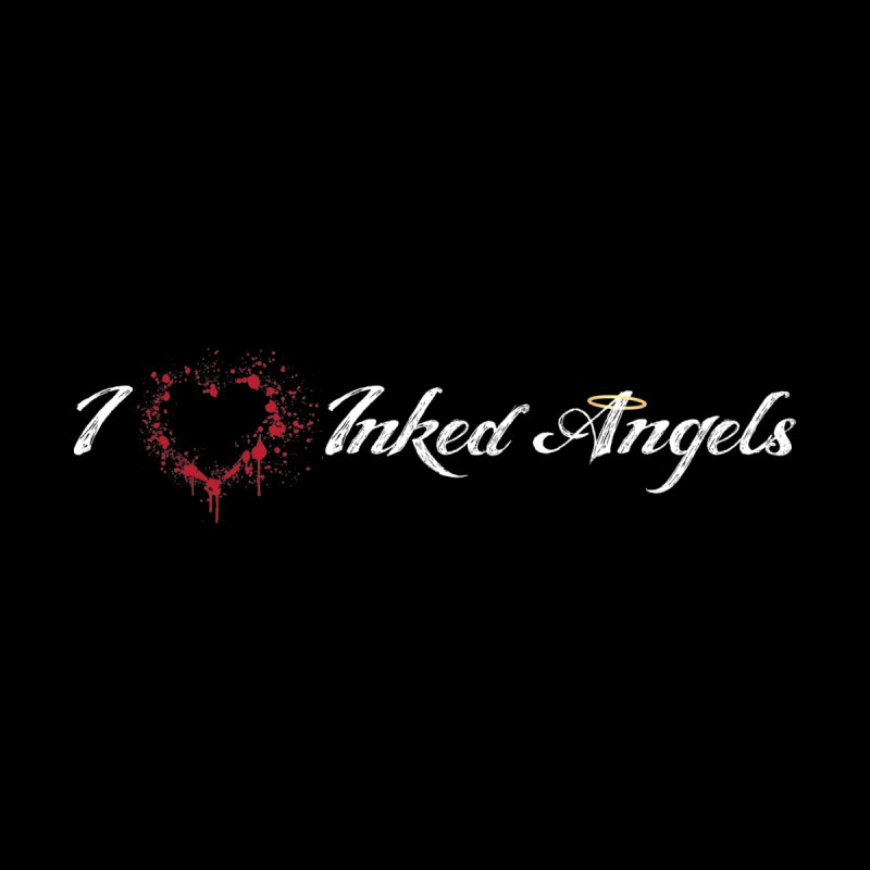 I Love Inked Angels Men's V-Neck by Inked Angels' Store