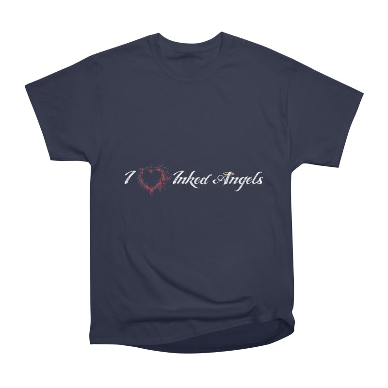 I Love Inked Angels Men's Heavyweight T-Shirt by Inked Angels' Store