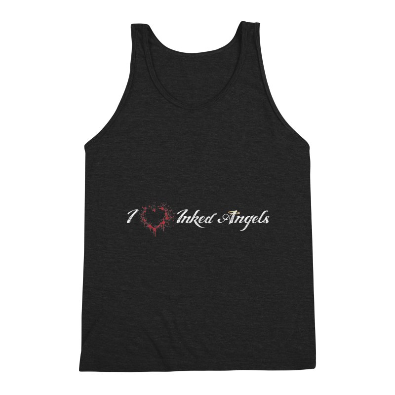 I Love Inked Angels Men's Triblend Tank by Inked Angels' Store