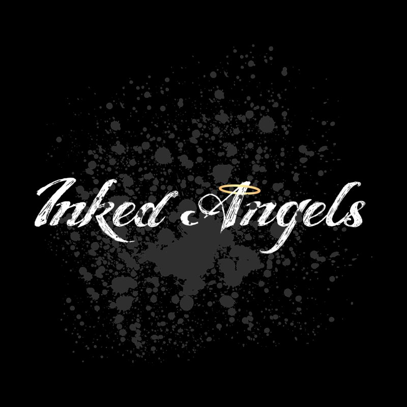 Inked Angels Splatter Men's Longsleeve T-Shirt by Inked Angels' Store