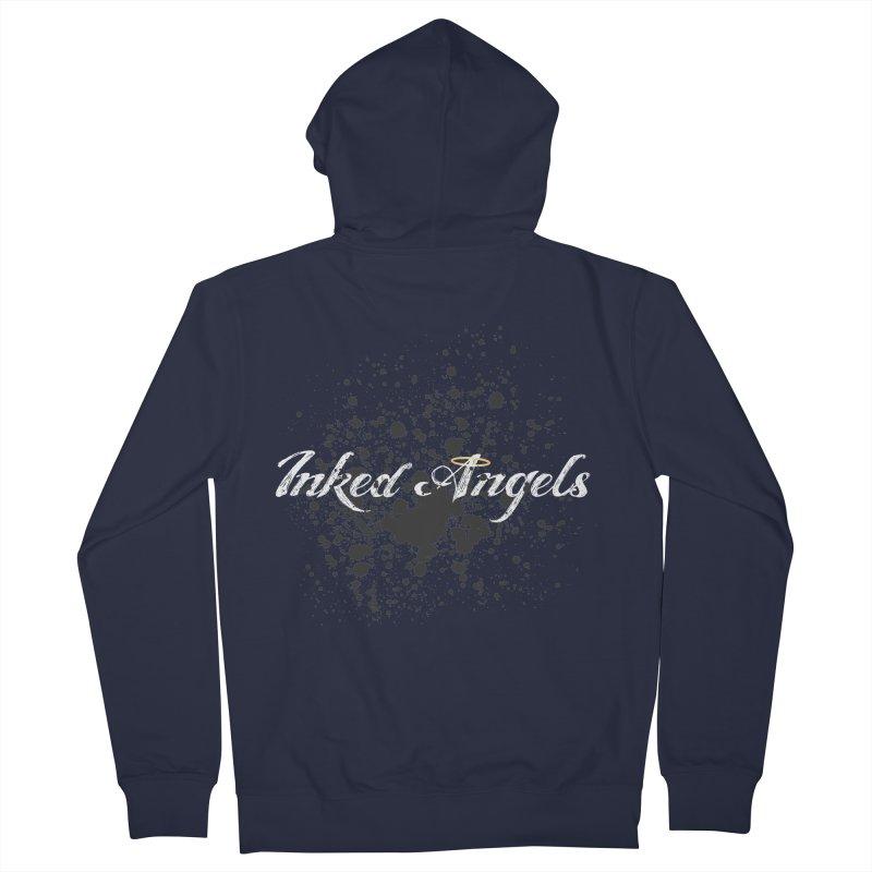 Inked Angels Splatter Women's Zip-Up Hoody by Inked Angels' Store
