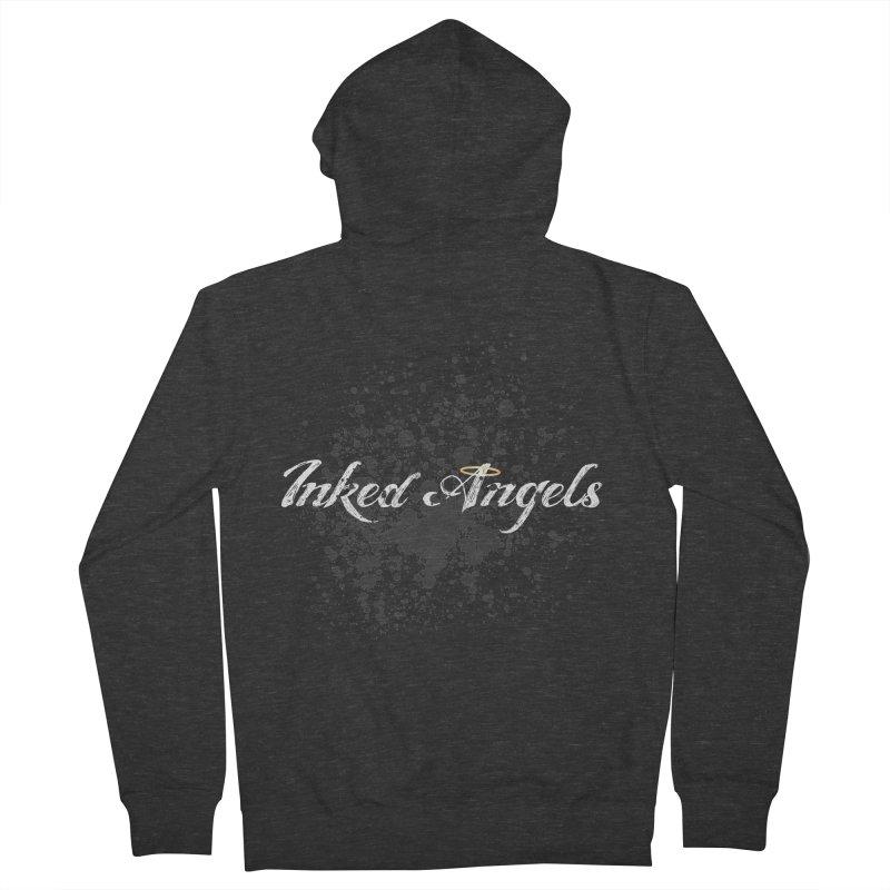 Inked Angels Splatter Men's Zip-Up Hoody by Inked Angels' Store