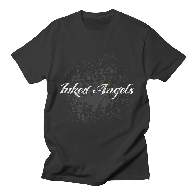 Inked Angels Splatter Men's T-Shirt by Inked Angels' Store