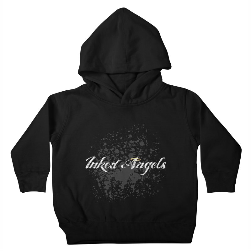 Inked Angels Splatter Kids Toddler Pullover Hoody by Inked Angels' Store