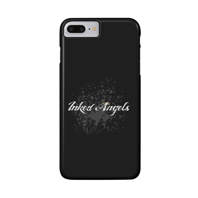 Inked Angels Splatter Accessories Phone Case by Inked Angels' Store