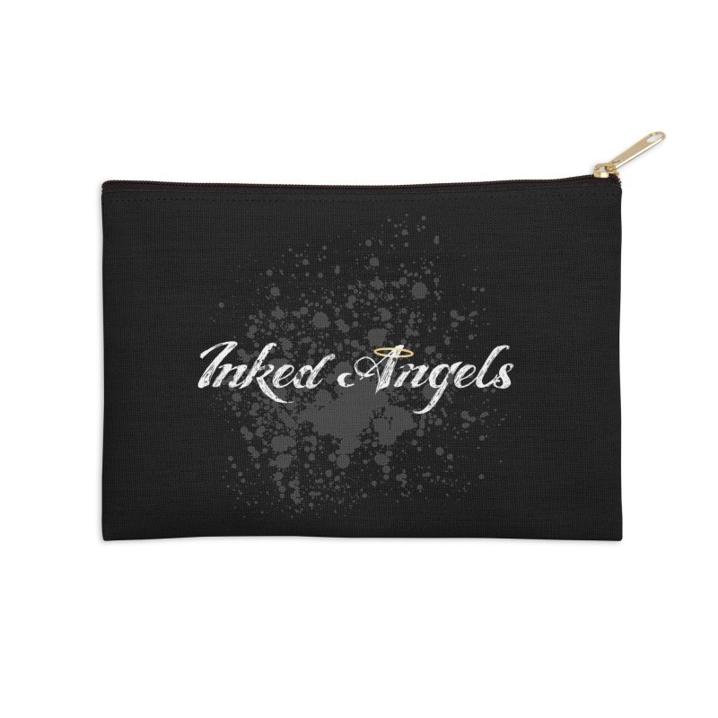 Inked Angels Splatter Accessories Zip Pouch by Inked Angels' Store
