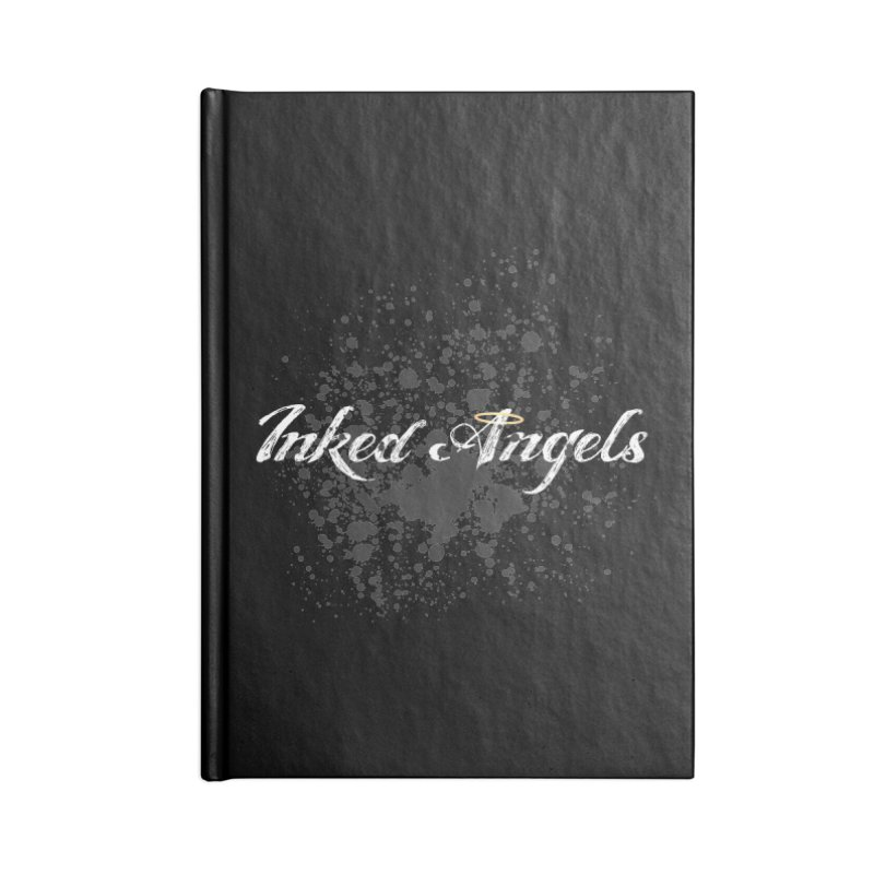 Inked Angels Splatter Accessories Lined Journal Notebook by Inked Angels' Store