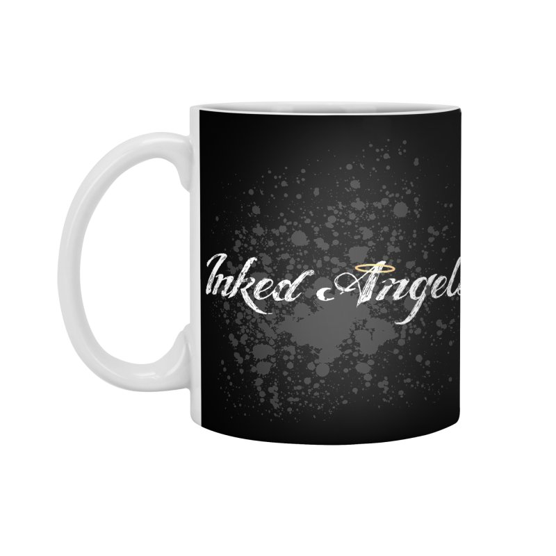 Inked Angels Splatter Accessories Standard Mug by Inked Angels' Store