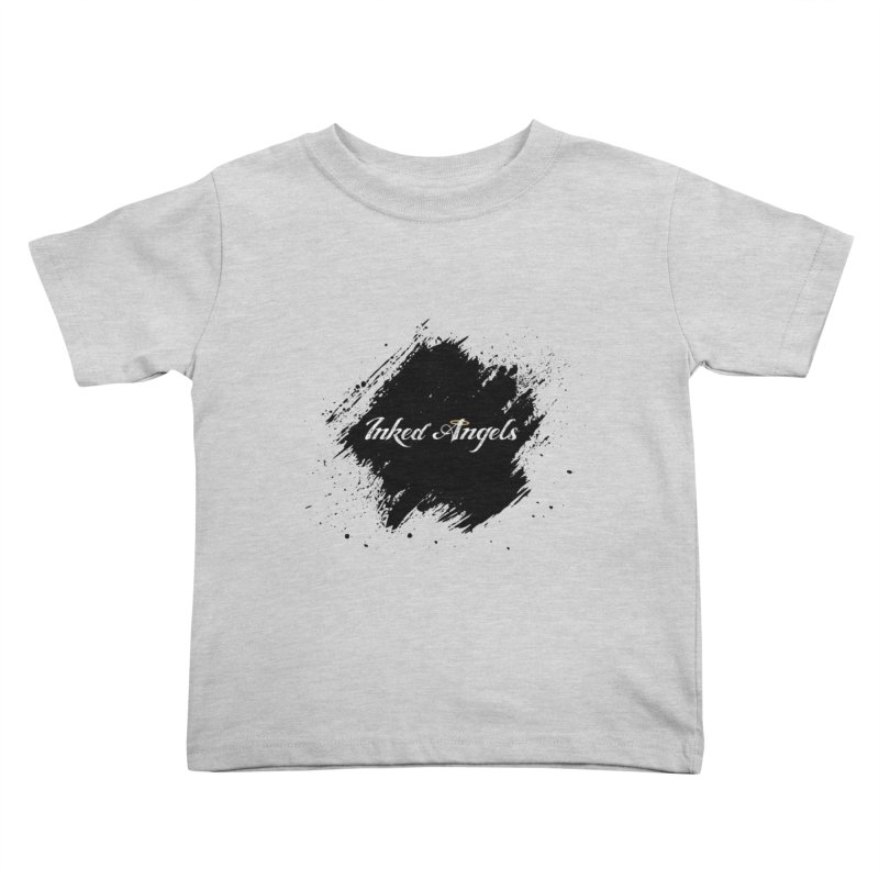 Inked Angels White Kids Toddler T-Shirt by Inked Angels' Store