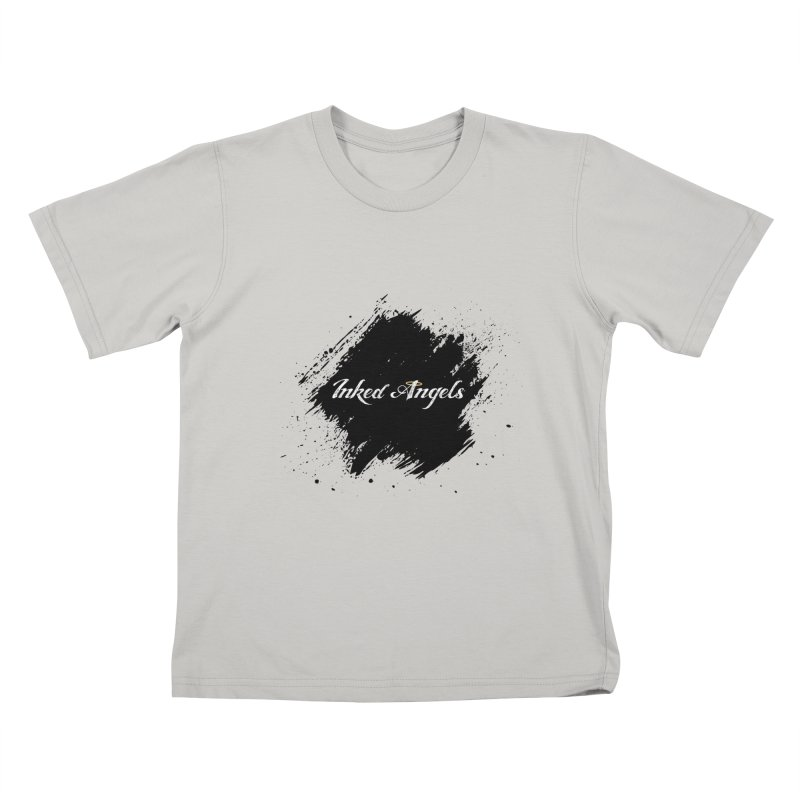 Inked Angels White Kids T-Shirt by Inked Angels' Store