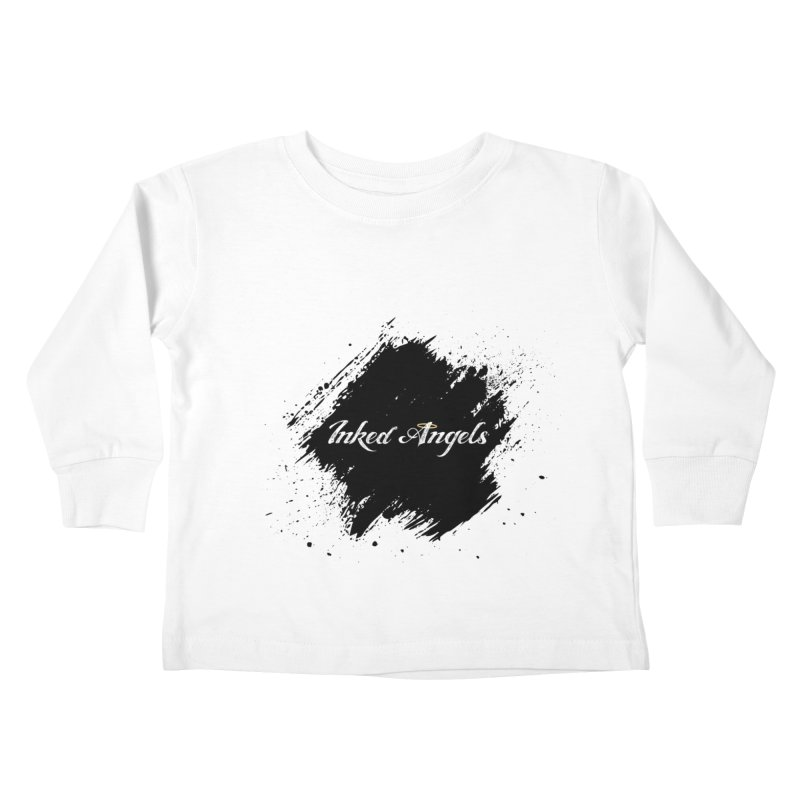 Inked Angels White Kids Toddler Longsleeve T-Shirt by Inked Angels' Store