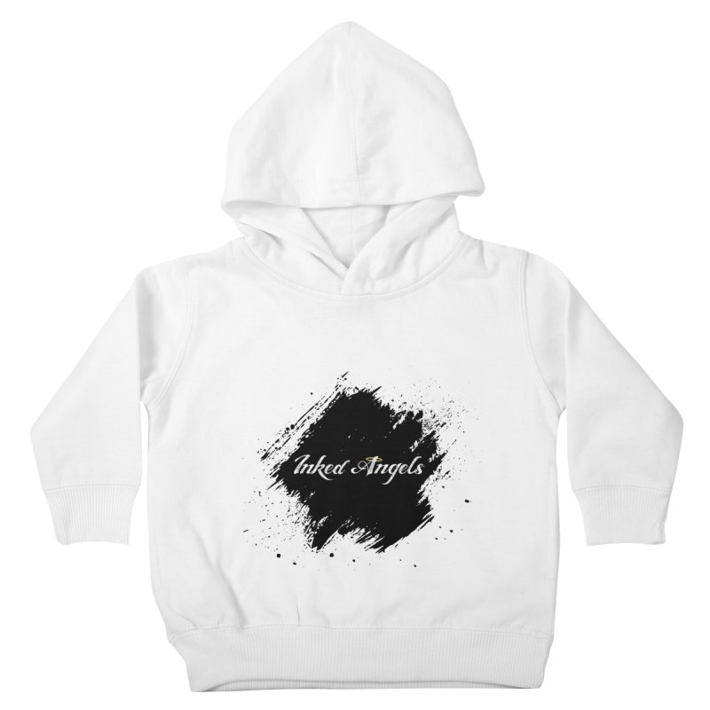 Inked Angels White Kids Toddler Pullover Hoody by Inked Angels' Store