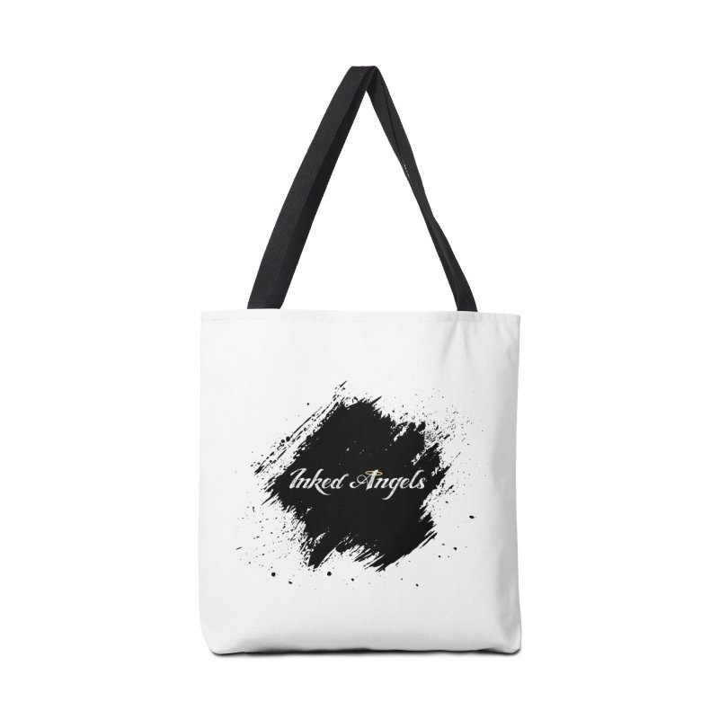 Inked Angels White Accessories Bag by Inked Angels' Store