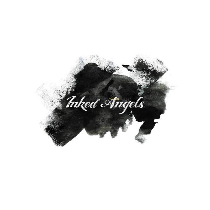 Inked Angels Black Paint Men's T-Shirt by Inked Angels' Store