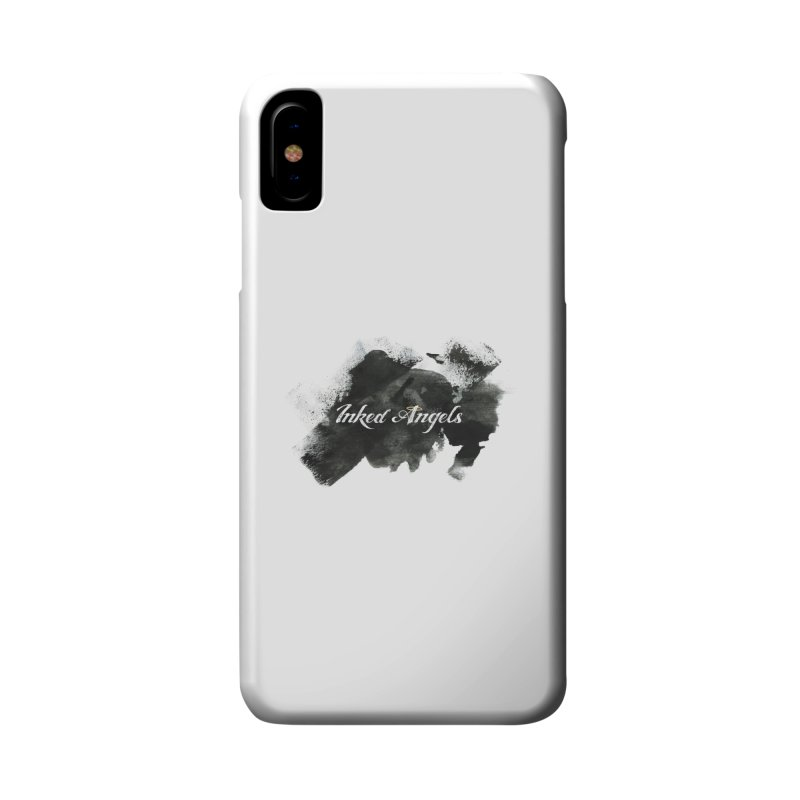 Inked Angels Black Paint Accessories Phone Case by Inked Angels' Store