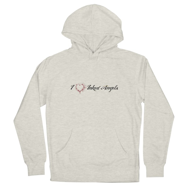 I love Inked Angels White Men's Pullover Hoody by Inked Angels' Store