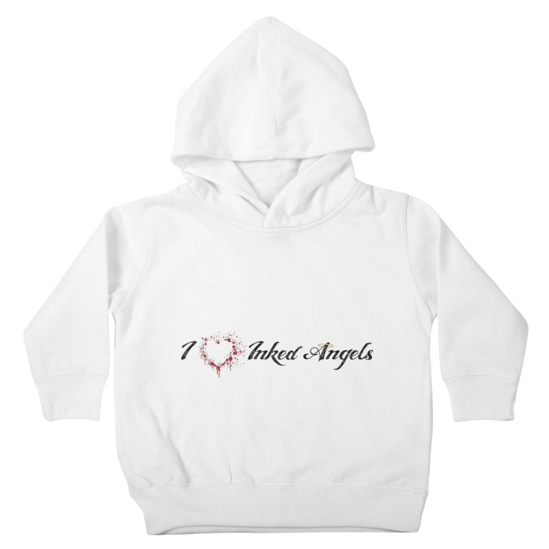 I love Inked Angels White Kids Toddler Pullover Hoody by Inked Angels' Store