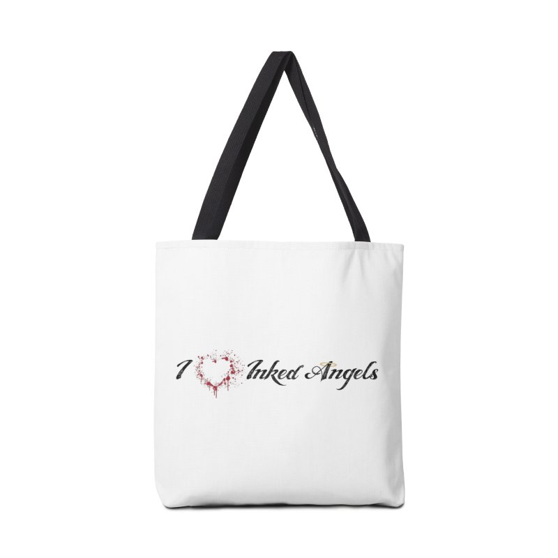 I love Inked Angels White Accessories Bag by Inked Angels' Store