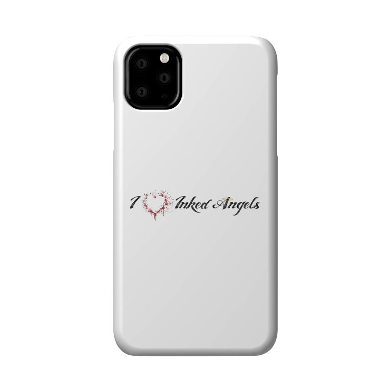 I love Inked Angels White Accessories Phone Case by Inked Angels' Store