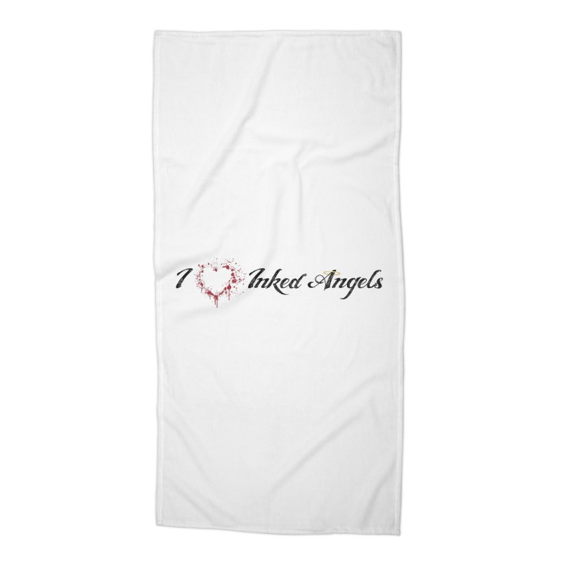 I love Inked Angels White Accessories Beach Towel by Inked Angels' Store