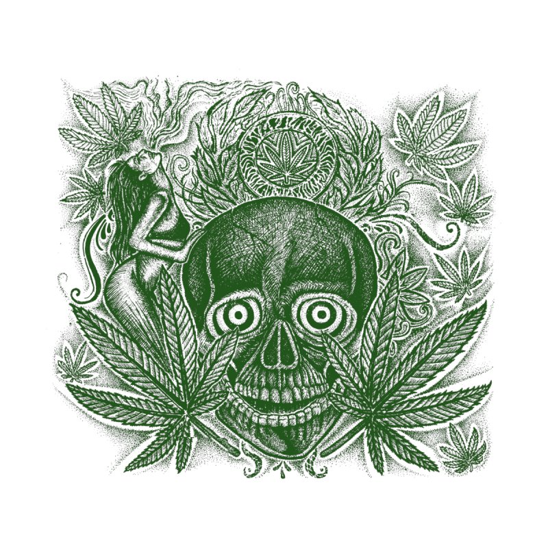 pot-head Women's T-Shirt by inkeyc's Shop