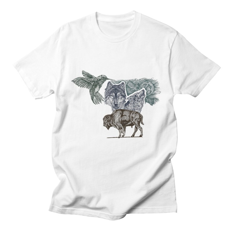 animal Men's T-shirt by inkeyc's Shop