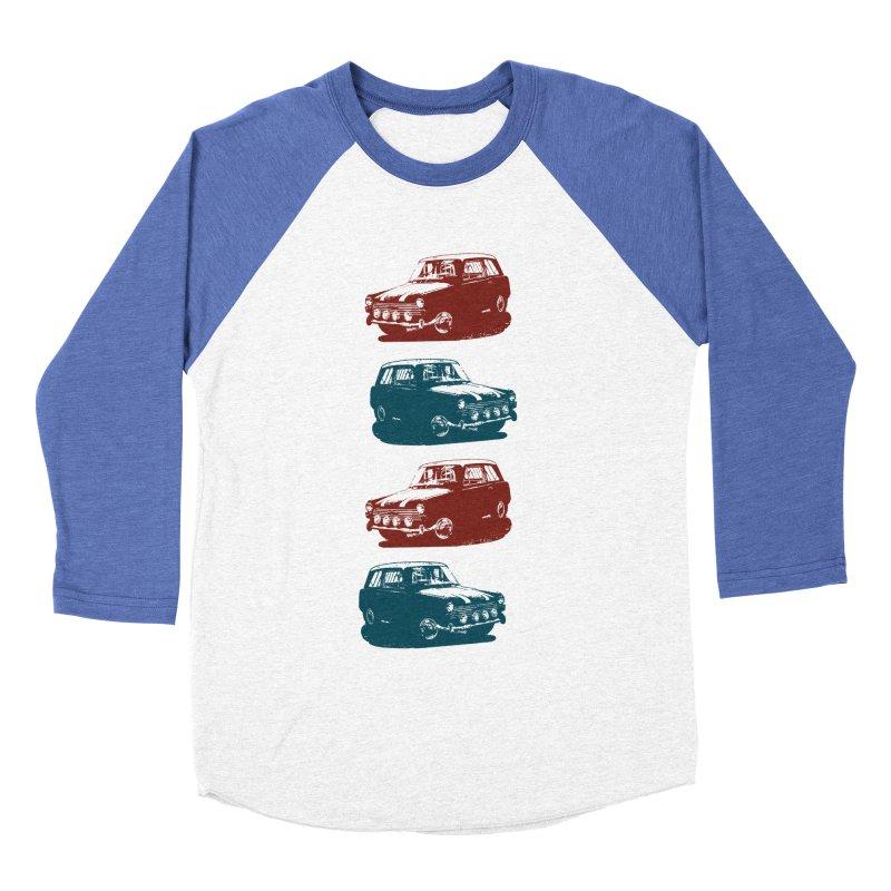 PARKED Women's Baseball Triblend T-Shirt by inkgorilla's Artist Shop