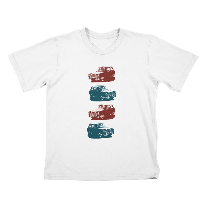 PARKED Kids T-shirt by inkgorilla's Artist Shop