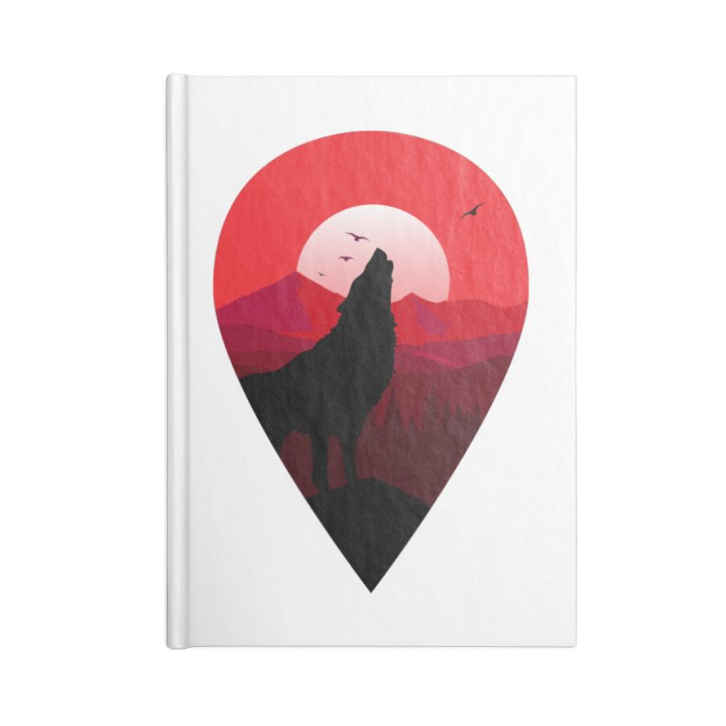 Wolfhill Accessories Notebook by inkhip's Artist Shop