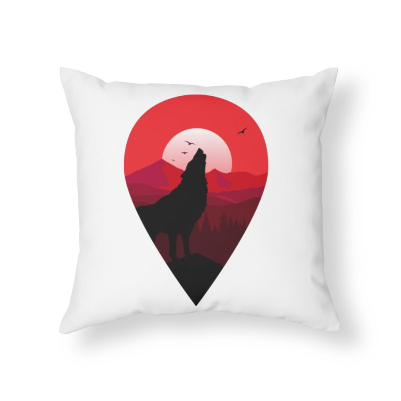 Wolfhill Home Throw Pillow by inkhip's Artist Shop
