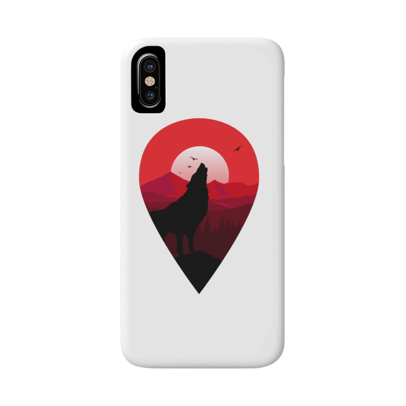 Wolfhill Accessories Phone Case by inkhip's Artist Shop