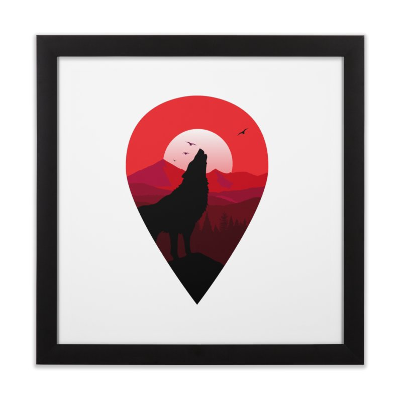 Wolfhill Home Framed Fine Art Print by inkhip's Artist Shop