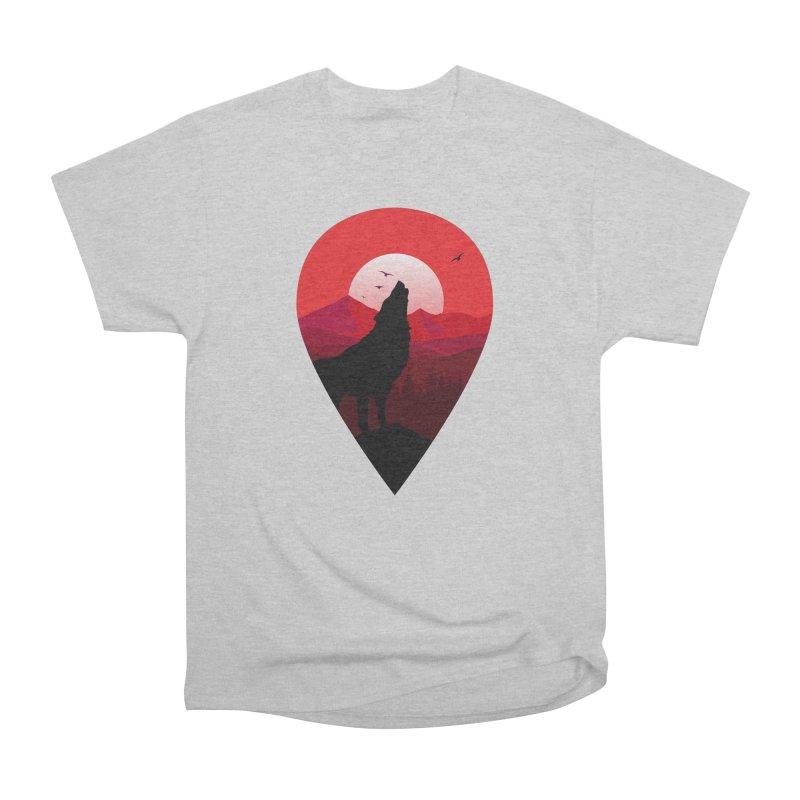 Wolfhill Men's Heavyweight T-Shirt by inkhip's Artist Shop
