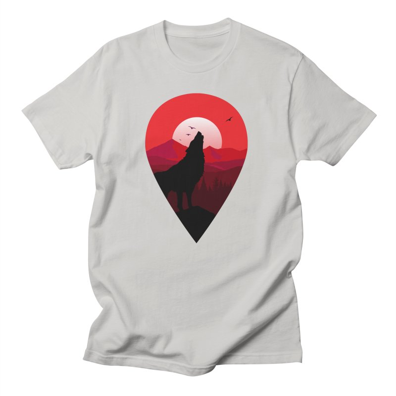 Wolfhill Men's T-Shirt by inkhip's Artist Shop